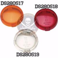 CABOCHON CLIGNOTANT HARLEY ORANGE...DS280517...LA BOUTIQUE DU BIKER