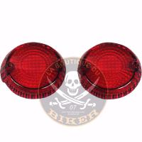 CABOCHONS CLIGNOTANT KAWASAKI VN1500 MEAN STREAK / VN1600 MEAN STREAK ROUGE...PE20200616