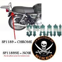 PORTE PAQUET ORCAL 125 ASTOR+SIRIO+SPRNT...SP1189 CHROME...SPAAN-LA BOUTIQUE DU BIKER