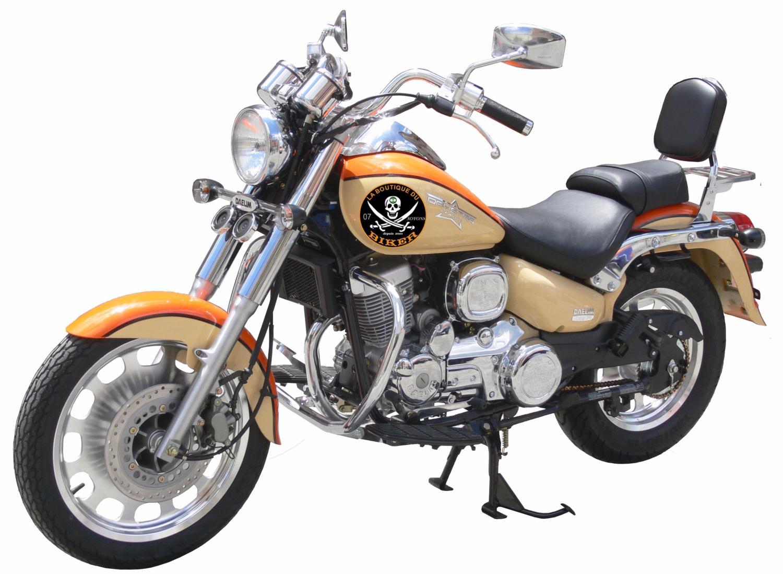 barre de protection moteur daelim 125 daystar sp740 spaan la boutique du biker. Black Bedroom Furniture Sets. Home Design Ideas