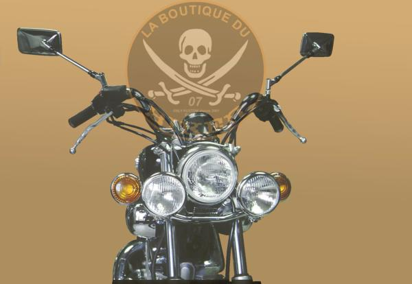 SUPORT PHARE ADDITIONNEL YAMAHA XV 535 VIRAGO...SP276...SPAAN-LA BOUTIQUE DU BIKER