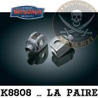 CAN-AM...ADAPTATEUR POUR CALE PIED KURYAKYN CAN-AM SPYDER RS 2008-2015...K8808