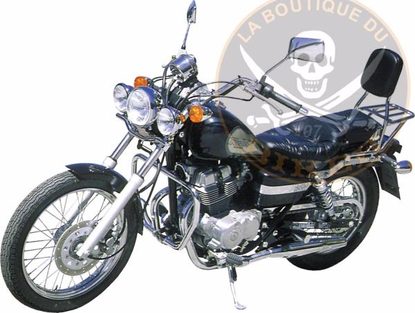 BARRE de PROTECTION MOTEUR HONDA CM125 REBEL...SP301...SPAAN-LA BOUTIQUE DU BIKER