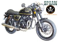 BARRE de PROTECTION MOTEUR AJS MOTORCYCLES Cadwell Clubmann 125...SP1568 CHROME...SPAAN LA BOUTIQUE DU BIKER