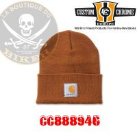 BONNET CARHARTT Acrylic Watch Hat Brown...CC888946...LA BOUTIQUE DU BIKER