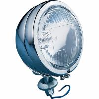 PHARE 115mm ADDITIONNEL CHROME PLAT H3 55W...DS280010...LA BOUTIQUE DU BIIKER