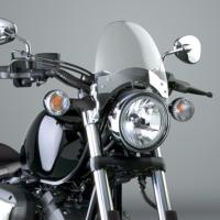 BULLE SAUTE-VENT HARLEY CLAIR NATIONAL CYCLE...CC15356...LA BOUTIQUE DU BIKER