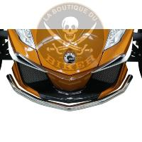 CAN-AM...PARE CHOC CHROME CAN-AM SPYDER RT 2012-2018...PE05301414 RIVCO PRODUCTS BUMPER FRONT CHROME