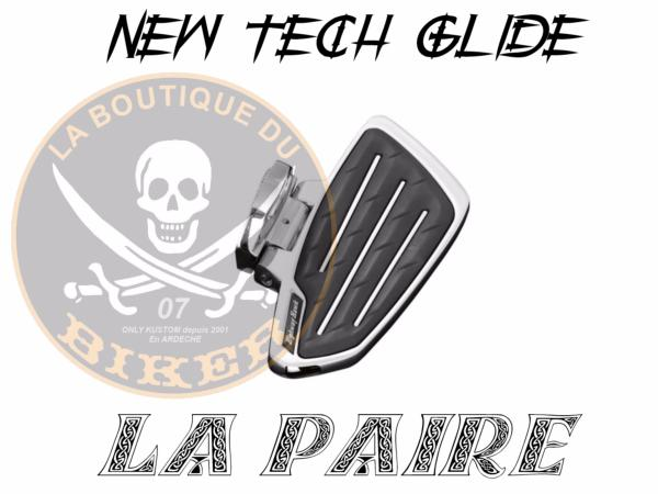 MARCHE-PIEDS PASSAGER SUZUKI M1500 INTRUDER NEW TECH GLIDE...H732-700...LA BOUTIQUE DU BIKER