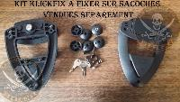 SUPORTS SACOCHES ORCAL 125 ASTOR+SIRIO+SPRNT...KLICKFIX CHROME...SP1285 SPAAN-LA BOUTIQUE DU BIKER