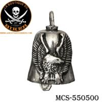 CLOCHETTE PORTE BONHEUR...MCS550500 EAGLE W/UPTURNED WINGS GREMLIN BELL #LABOUTIQUEDUBIKER