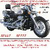 BARRE de PROTECTION MOTEUR SUZUKI C800 B INTRUDER...SP777ND NOIR...LA BOUTIQUE DU BIKER