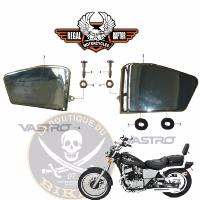 VASTRO RAPTOR 125...CACHE LATERAL N°01	SPORTSTERFIG14-1	 CACHE GAUCHE CHROME