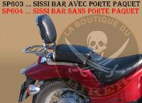 BARRE de PROTECTION MOTEUR HONDA VT600 SHADOW CHROME...SP223...SPAAN LA BOUTIQUE DU BIKER