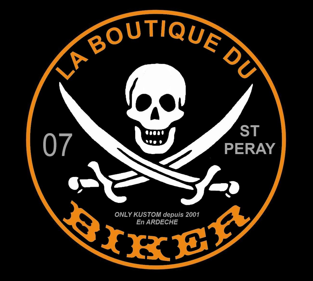 Sticker collection de la boutiquedu biker gratuit uniquement avec une commande