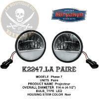 "PHARE 115mm ADDITIONNEL INDIAN Kuryakyn  Truck-Lite 4-1/2"" Passing Lamp ...K2247...LABOUTIQUEDUBIKER"