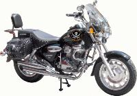 SISSI-BAR KEEWAY 125 SUPERLIGHT...AVEC PORTE PAQUET CHROME...SP649...SPAAN-LA BOUTIQUE DU BIKER