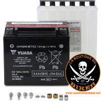 BATTERIE POUR INDIAN...YTX20L-BS...LA BOUTIQUE DU BIKER