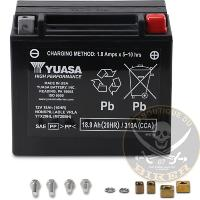 BATTERIE POUR INDIAN...PE21130104 YUASA...LA BOUTIQUE DU BIKER