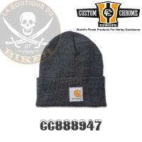 BONNET CARHARTT Acrylic Watch Hat Coal Heather...CC888947...LA BOUTIQUE DU BIKER