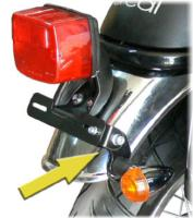 DÉPORT CLIGNOTANT ORCAL 125 ASTOR+SIRIO+SPRNT...SP1205  #LABOUTIQUEDUBIKER
