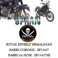 BARRE de PROTECTION MOTEUR ROYAL ENFIELD HIMALAYAN CHROME...SP1447 SPAAN-LABOUTIQUEDUBIKER