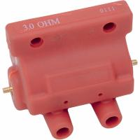 BOBINE POUR HD...COIL 12V DUAL-FIRE 3 OHM RED...PE21020217...REMPLACE OEM #31609-80