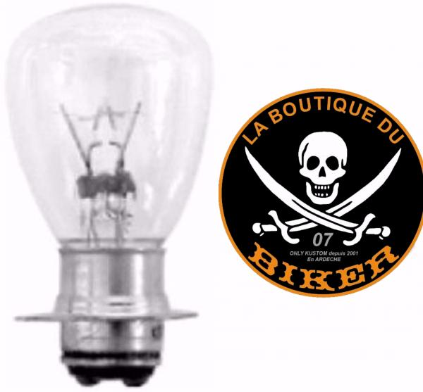 AMPOULE POUR PHARE ADDITIONNEL 35W...H68-147...LA BOUTIQUE DU BIKER
