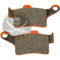 PLAQUETTES DE FREIN CAN-AM SPYDER ARRIERE...PE17211816 EBC BRAKE PAD FA-V SERIES SINTERED METAL/ORGA