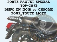 PORTE PAQUET HONDA VT750 SHADOW C2...SPECIAL TOP-CASE CHROME...SP614TC...SPAAN LABOUTIQUEDUBIKER