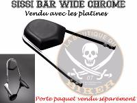 SISSI-BAR YAMAHA 650 DRAG STAR + CLASSIC SANS PORTE PAQUET WIDE...H522-1047...LABOUTIQUEDUBIKER