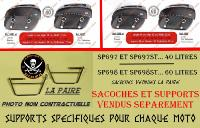 SUPORTS SACOCHES KEEWAY 125 SUPERLIGHT...KLICKFIX...SP879 SPAAN-LA BOUTIQUE DU BIKER