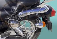 BARRE de PROTECTION MOTEUR KYMCO ZING CHROME...SP588 SPAAN LA BOUTIQUE DU BIKER