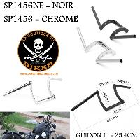 GUIDON EN 25 CHROME...SP1456...LA BOUTIQUE DU BIKER