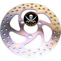 DISQUE DE FREIN CAN-AM SPYDER ARRIERE...PE17102263 EBC BRAKE ROTOR REPLACEMENT SERIES SOLID ROUND