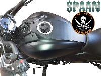 TANK PANEL KAWASAKI S650...SP1522...SPAAN-LA BOUTIQUE DU BIKER