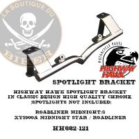 SUPORT PHARE ADDITIONNEL YAMAHA XV1900 MIDNIGHT STAR...HH682-121...LA BOUTIQUE DU BIKER