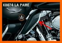 ACCENTS for H-D Mid-Frame Air FLH / FLD / FLS / FLT / HD TRIKE...K8674...LA BOUTIQUE DU BIKER