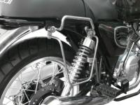 SUPORTS SACOCHES ORCAL 125 ASTOR+SIRIO+SPRNT...SP1191 CHROME...SPAAN-LA BOUTIQUE DU BIKER