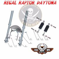 SUSPENSION DAYTONA N°01 TUBE DE FOURCHE DROITE