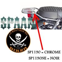 PORTE PAQUET ORCAL 125 ASTOR+SIRIO+SPRNT...SP1190 CHROME...SPAAN-LA BOUTIQUE DU BIKER