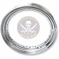 "CERCLAGE DE JANTE 16"" SPOKE RIM CHROME PE02100323...LA BOUTIQUE DU BIKER"