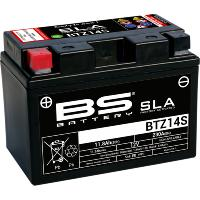 BATTERIE POUR NORTON COMMANDO 961 MKII...PE21130624 BS BATTERY BATTERY BTZ14S SLA 12V 230 A