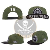 CASQUETTE KING KEROSIN SNAPBACK CAP - F*CK THE WORLD...MCS565456...LABOUTIQUEDUBIKER