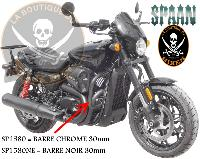 BARRE de PROTECTION MOTEUR HD XG500 / XG750 STREET + ROD...SP1580 CHROME...LABOUTIQUEDUBIKER
