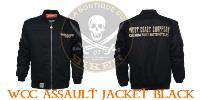 BLOUSON TAILLE L...BLOUSON WCC ASSAULT JACKET BLACK... MCS566200..LABOUTIQUEDUBIKER