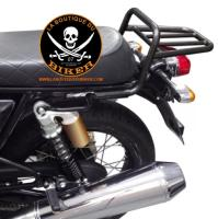 PORTE BAGAGES ROYAL ENFIELD CONTINENTAL / INTERCEPTOR 650 NOIR...SP1604NE SPAAN-LABOUTIQUEDUBIKER