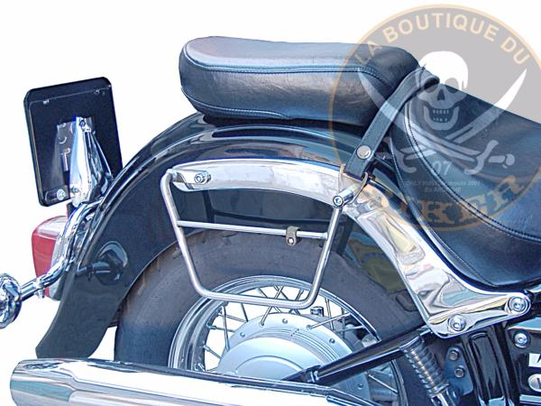 SUPORTS SACOCHES YAMAHA DRAG STAR 650 CLASSIC...KLICKFIX...SP769 SPAAN-LABOUTIQUE DU BIKER