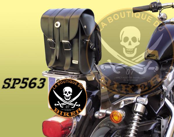 SACOCHE POUR SISSI-BAR PORTE DOCUMENTS...SP563...SPAAN LA BOUTIQUE DU BIKER