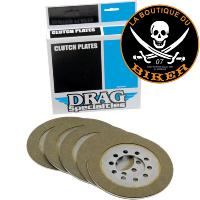 EMBRAYAGE HD BIG TWIN 1941-1967...PLAQUES DE FRICTION KIT KEVLAR...PE11310423
